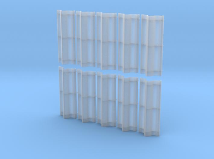Double Bankje HO 10x 3d printed