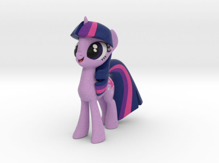 Twilight Sparkle 3d printed