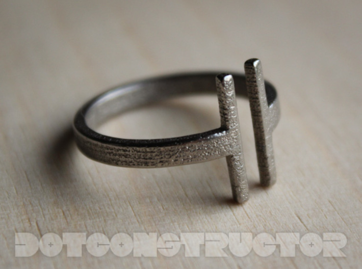 Bar Ring - Size 11.5 3d printed