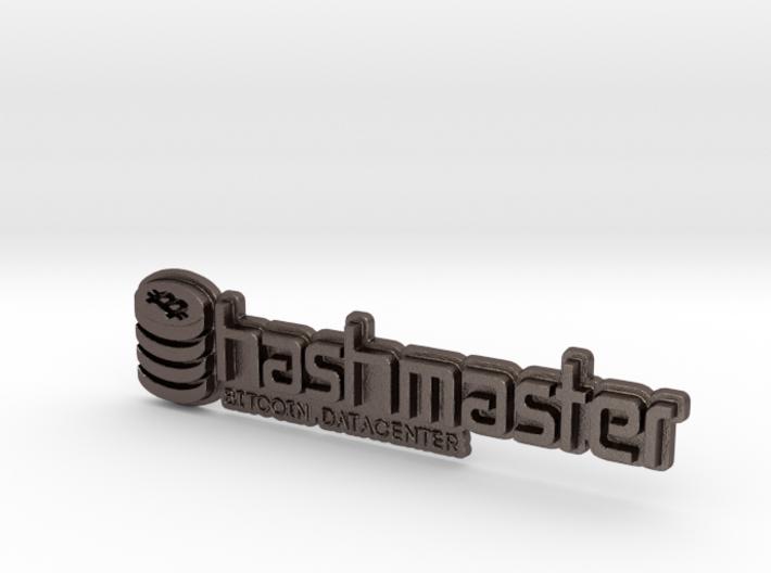HashMasterBadge 3d printed