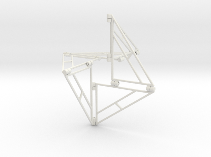 Triangle-6 3d printed