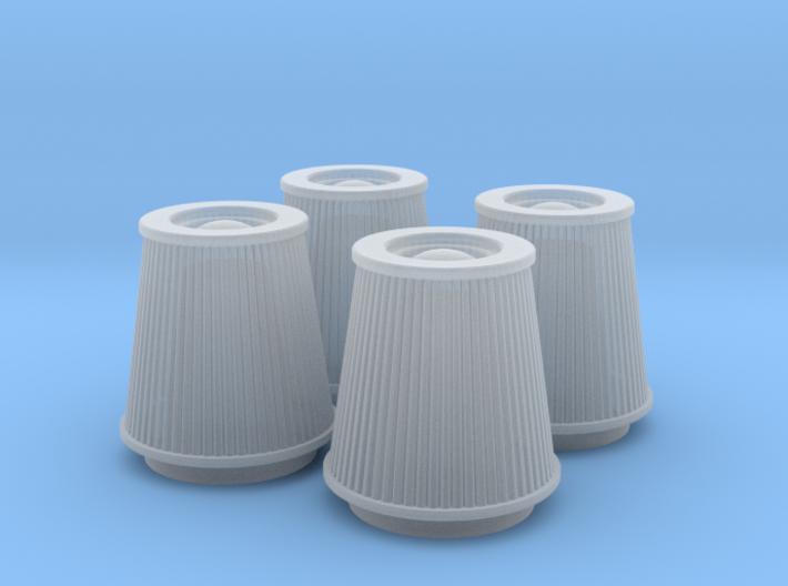 1/25 K&N Cone Style Air Filters TDR 4930 3d printed