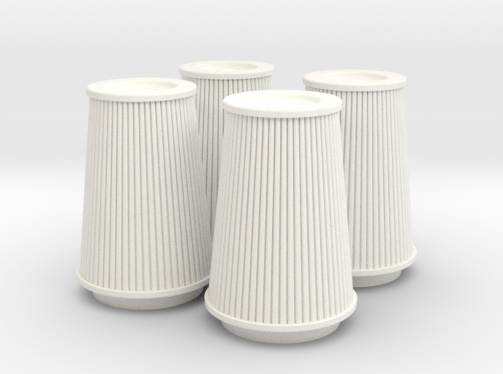 1/8 K&N Cone Style Air Filters TDR 4970 3d printed