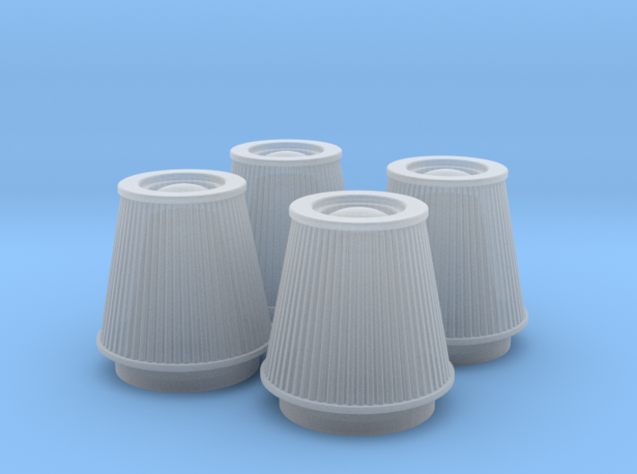 1/25 K&N Cone Style Air Filters TDR 5113 3d printed