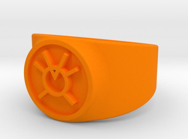 Orange Avarice GL Ring Sz 13 3d printed