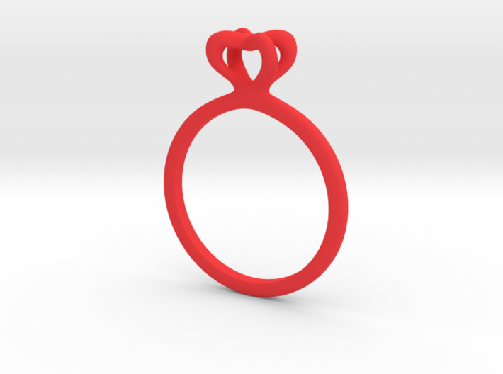 Infinity Love Ring Size US 6 (16.5mm) 3d printed