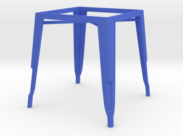 1:12 Pauchard Dining Table Frame 3d printed