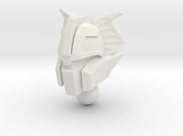 Chromehead Nickel Rock Style 3d printed