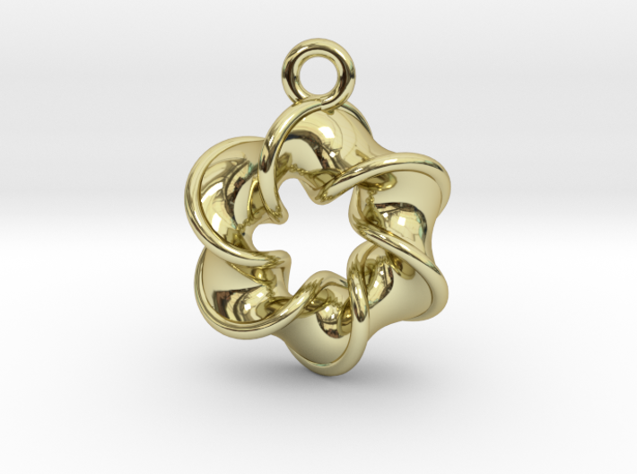 Six-pointed Star Pendant【size-S】 3d printed