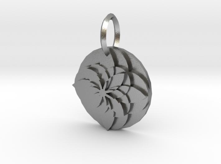 Sacret Flower geometry 3d printed