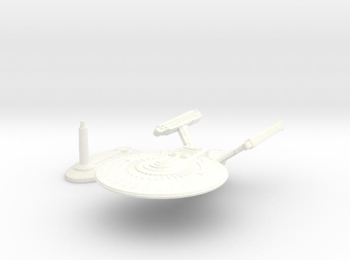 USS Brandt (Plus stand req 1/16th drill bit) 3d printed