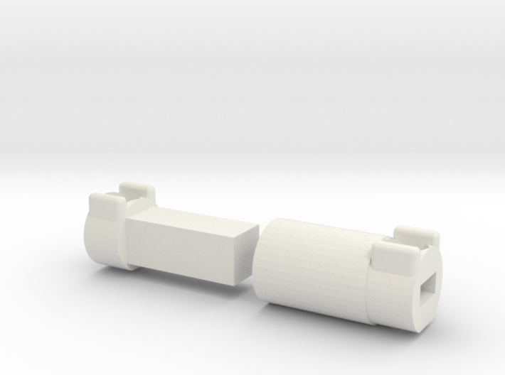 Driveshaft Long Wild Willy 4x4 3d printed