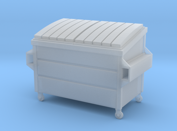 Dumpster Small in HO 3d printed