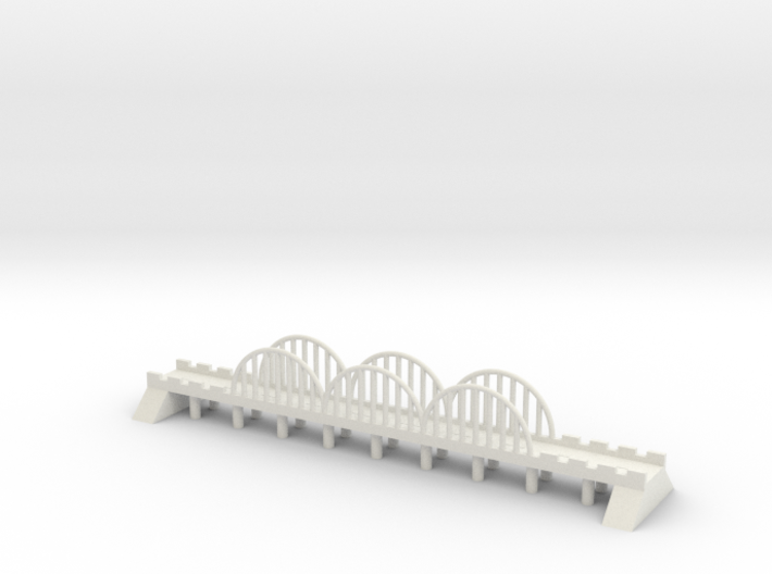 1/600 Steel Road Bridge 3d printed