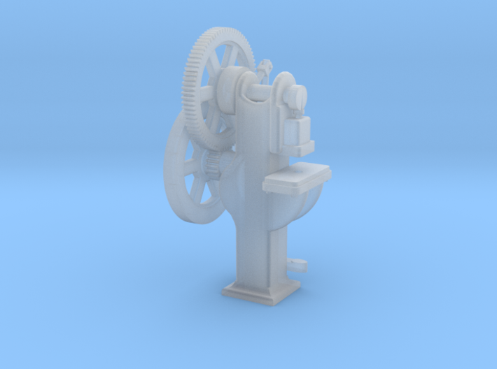Punch Press HO Scale 1/87 3d printed