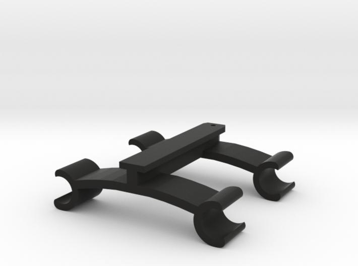 Walkera To 60mm Rail Adapter - V2 3d printed