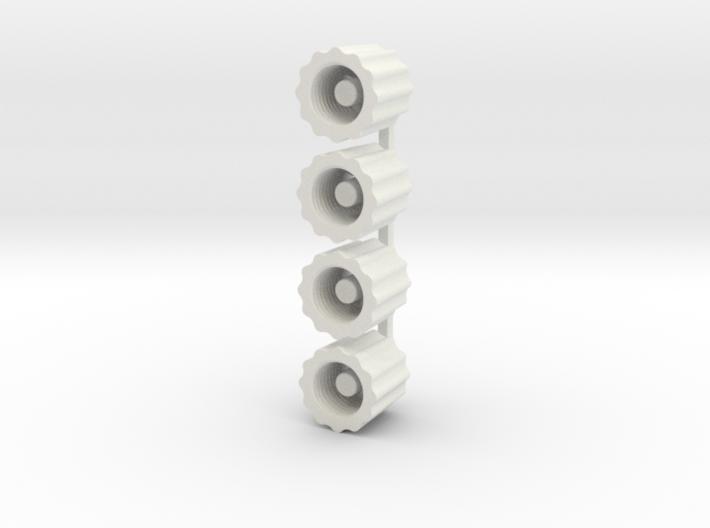 Schrader Valve Deflator 3d printed