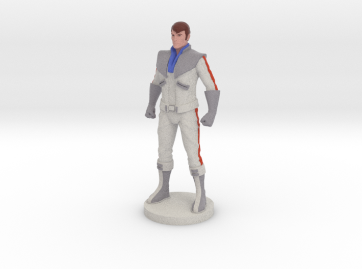 Spike homage Space Man 6.8inch Full Color Statue 3d printed