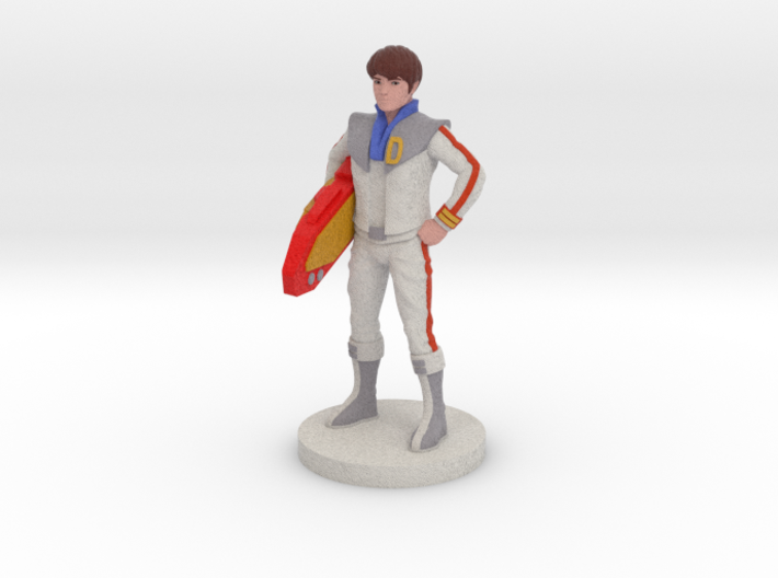 Daniel homage Space Boy 5.44inch Full Color Statue 3d printed