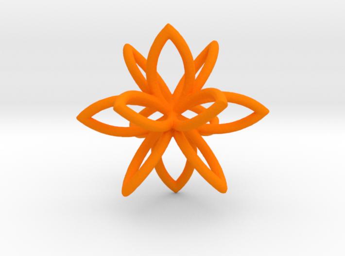 3D Flower 3d printed