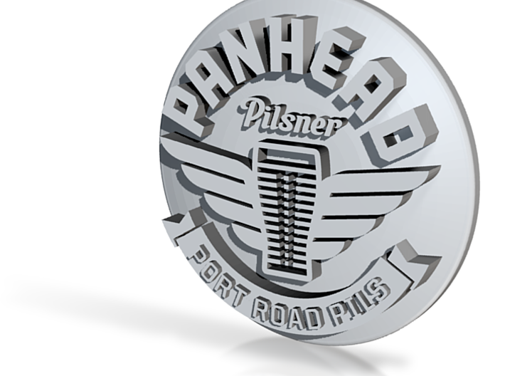 Panhead 1 3d printed