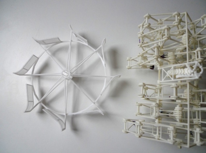 Turbine version 2(part only) 3d printed