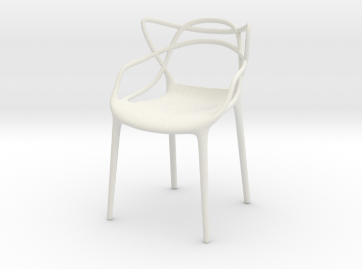 Masters Chair Miniature 1:12 3d printed
