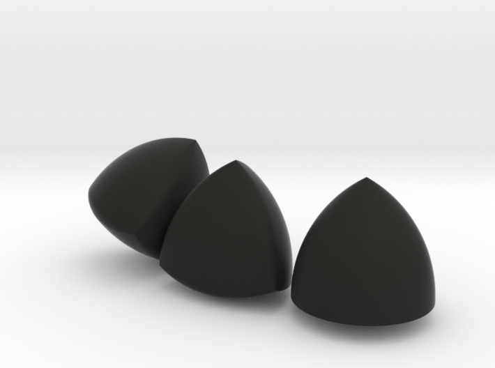 [Large] 3 Different Solids Of Constant Width 3d printed