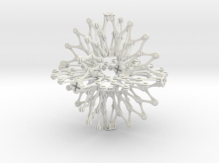 Hoberman Sphere (Large) 3d printed