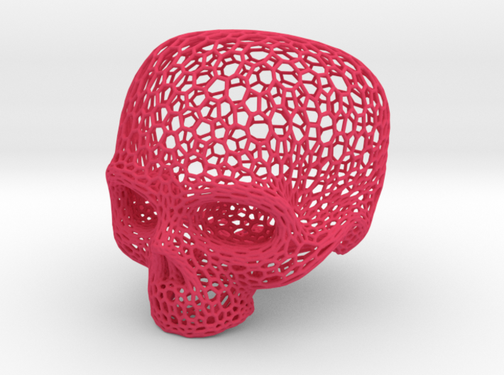Autumn Skull 3d printed