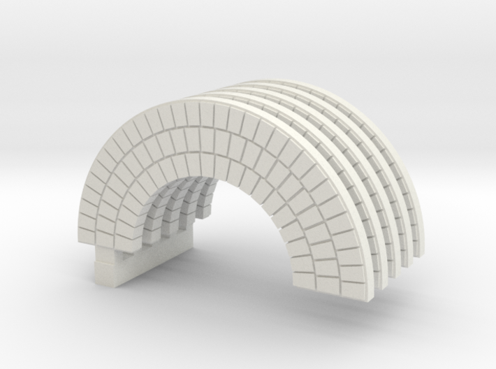 Brick Arch HO Modified X 5 3d printed