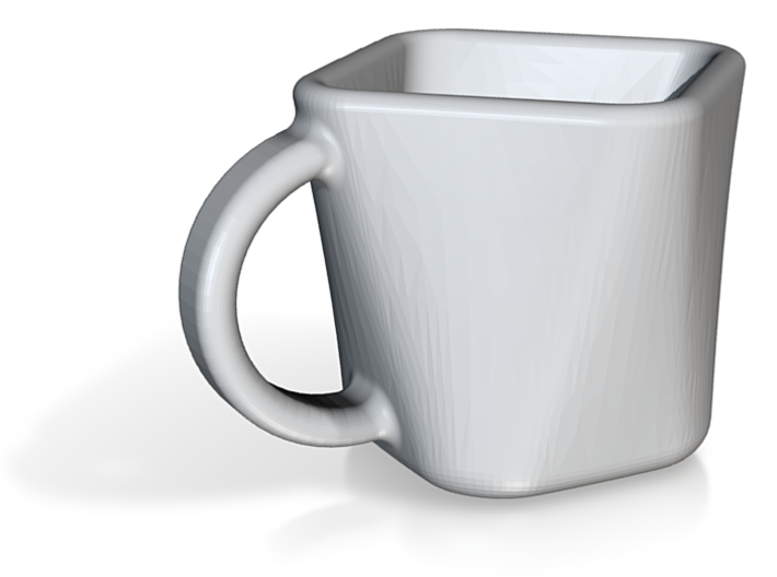 Square Tea Cup 3d printed