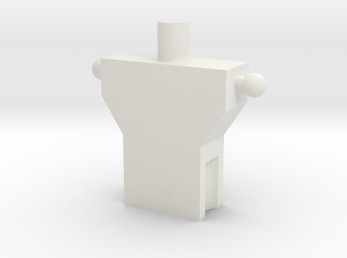 Broad and Long Torso 3d printed