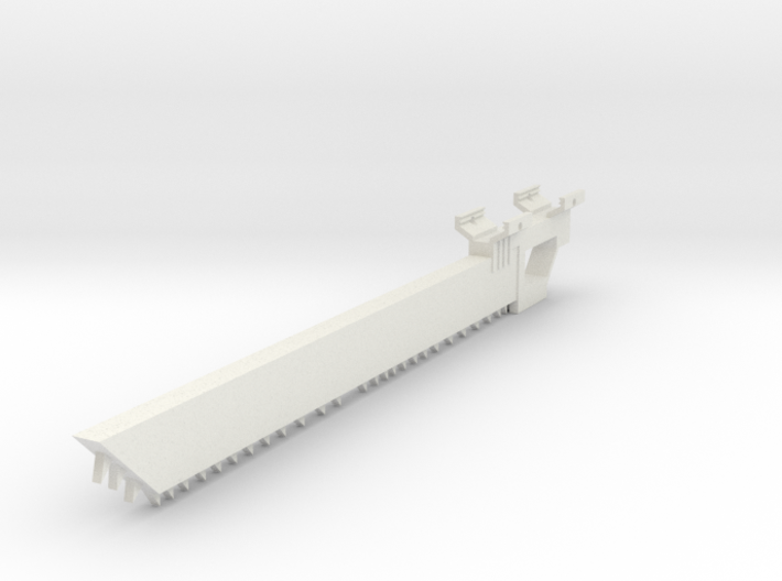 Chainknife Bayonet (Solid) 3d printed