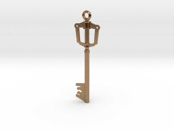 Kingdom Key Pendant 3d printed