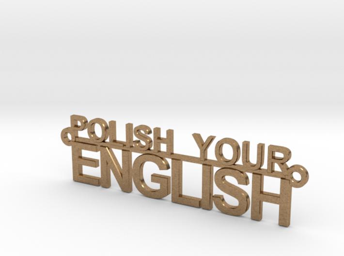POLISH YOUR ENGLISH 3d printed