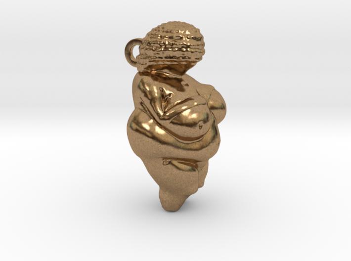 Venus of Willendorf Pendant 3d printed