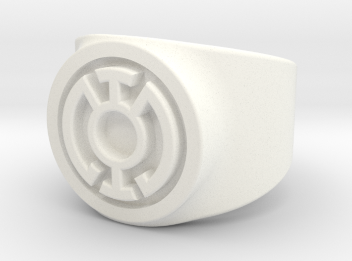 Blue Hope GL Ring Sz 6 3d printed