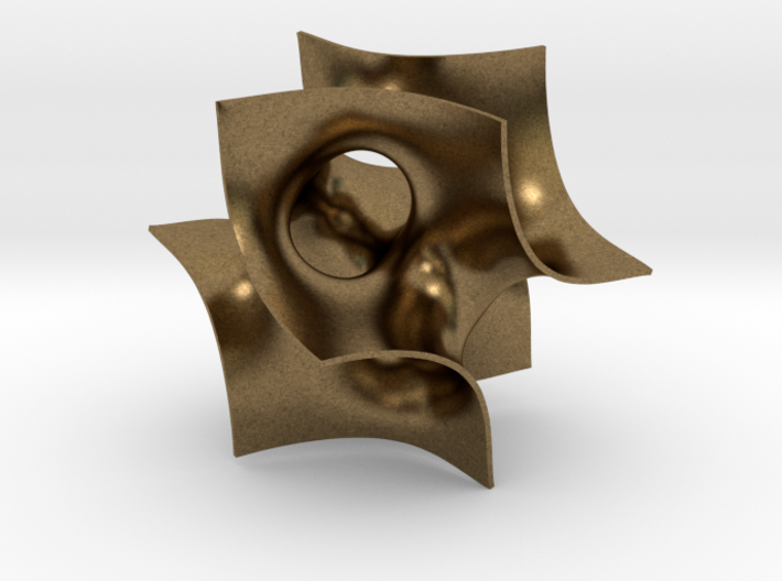 Batwing sculpture, 5 cm (2 inch) 3d printed