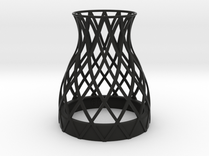 Bell Vase for jar size:66 (4 leads) 3d printed