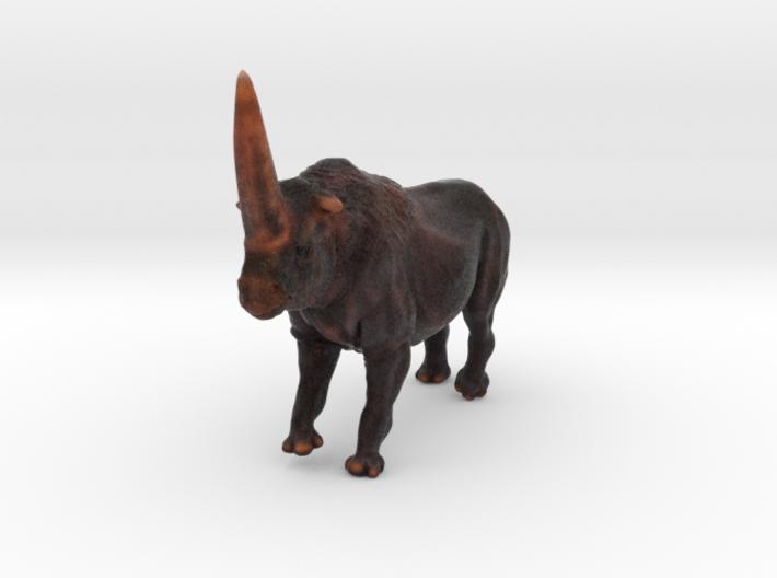 Elasmotherium Color 3d printed Elasmotherium animal toy by ©2012 RareBreed