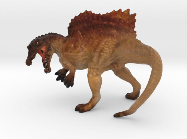 Spinosaurus Color 3d printed Spinosaurus in color by ©2012 RareBreed