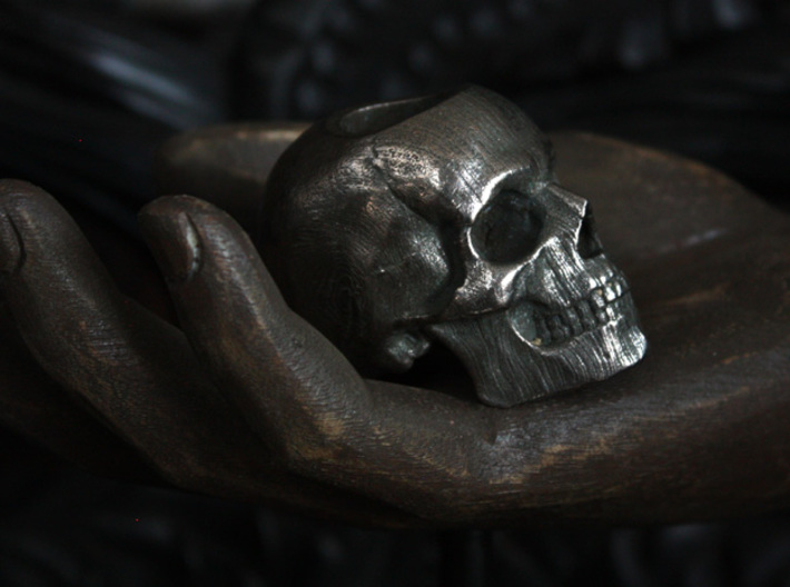 Yorick Skull Candle Holder 3d printed