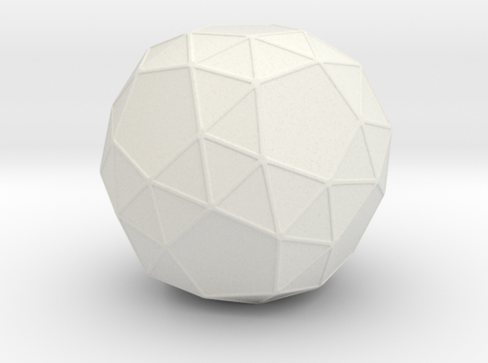 Snub Dodecahedron 3d printed