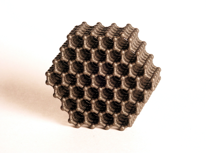 Carbon Model (S) 3d printed Steel (Photo)
