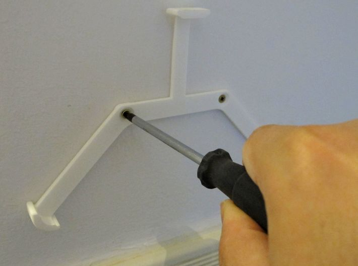 Acer Iconia One 7 Wall Mount / Wandhalterung 3d printed Mounting