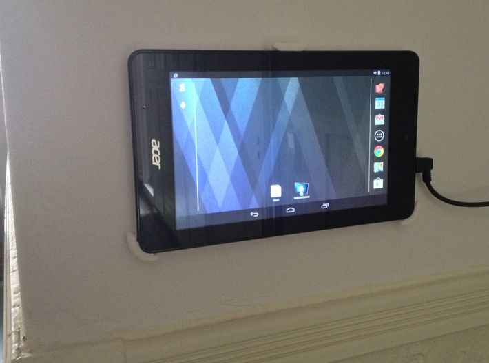 Acer Iconia One 7 Wall Mount / Wandhalterung 3d printed
