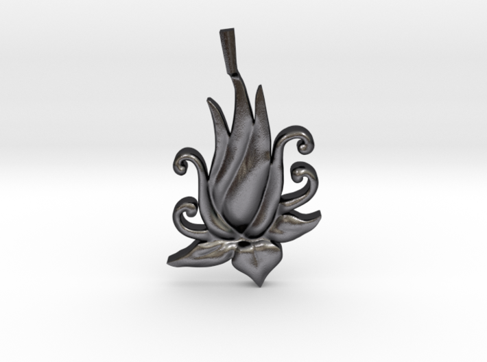 Lotus Bloom Charm 3d printed