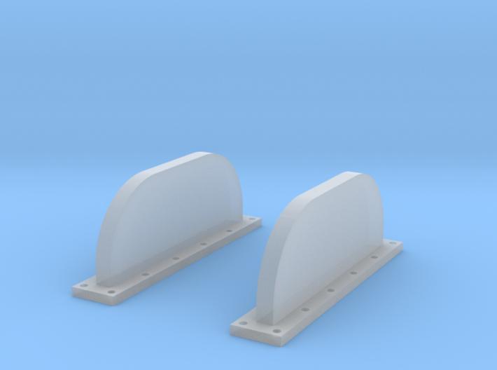 Apollo SM Scimitar Antennas 1:32 3d printed