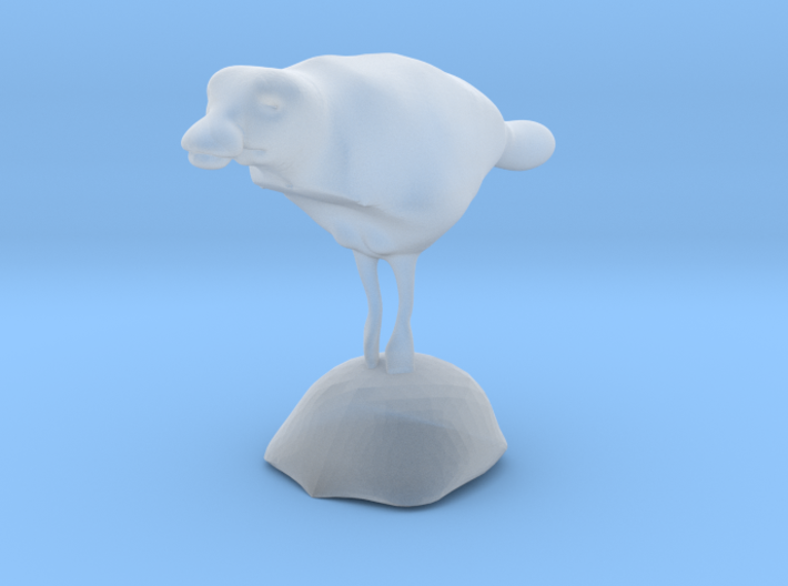 Duck Swiming With Stand 3d printed